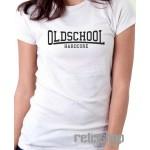Dámske tričko Oldschool Hardcore