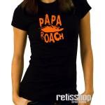 Dámske tričko Papa Roach/ Classic logo