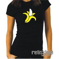 Tričko dámske s krátkym rukávom Banán