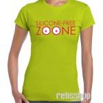 Tričko dámske s krátkym rukávom Silicone Free Zoone