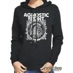 Dámska mikina s kapucňou Agnostic Front/  My Life, My Way, My Destiny