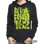 Dámska mikina s kapucňou Blink 182/ Smiley Face