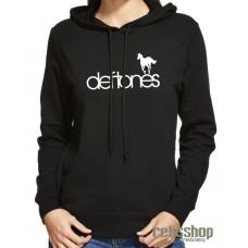 Dámska mikina s kapucňou Deftones/ white pony