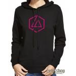Dámska mikina s kapucňou Linkin Park/ Chester Bennington logo