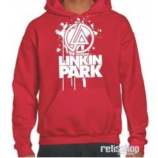 Mikina pánska s kapucňou Linkin Park/ white logo