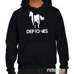 Mikina pánska s kapucňou Deftones logo
