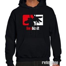 Mikina pánska s kapucňou Limp Bizkit logo