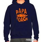 Mikina pánska s kapucňou Papa Roach/ Classic logo