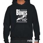 Mikina pánska s kapucňou The Bones/ Straight Flush Ghetto