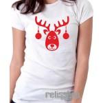 Tričko dámske Sob/ vianočné gule